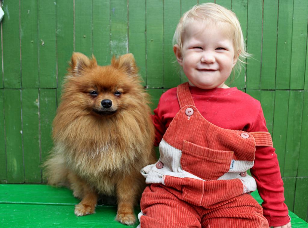 Лиза и Босс. Моя собака