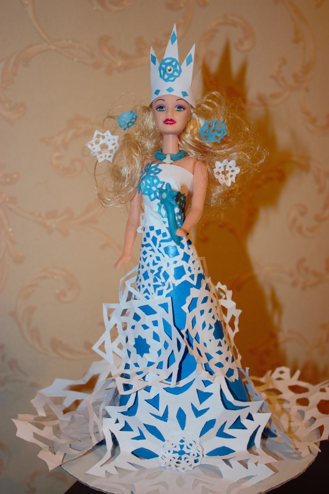 Снежная Королева. Блиц: стильная кукла