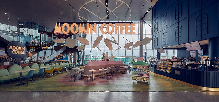 Кафе Муми-троллей