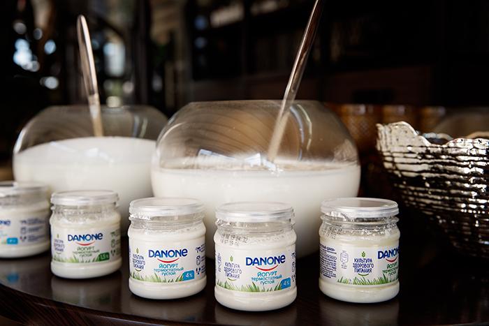Йогурт Danone
