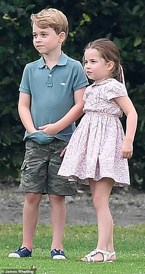 Принц Джордж принцесса Шарлотта