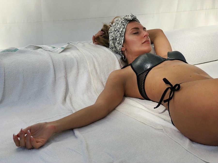 Саша Савельева после родов