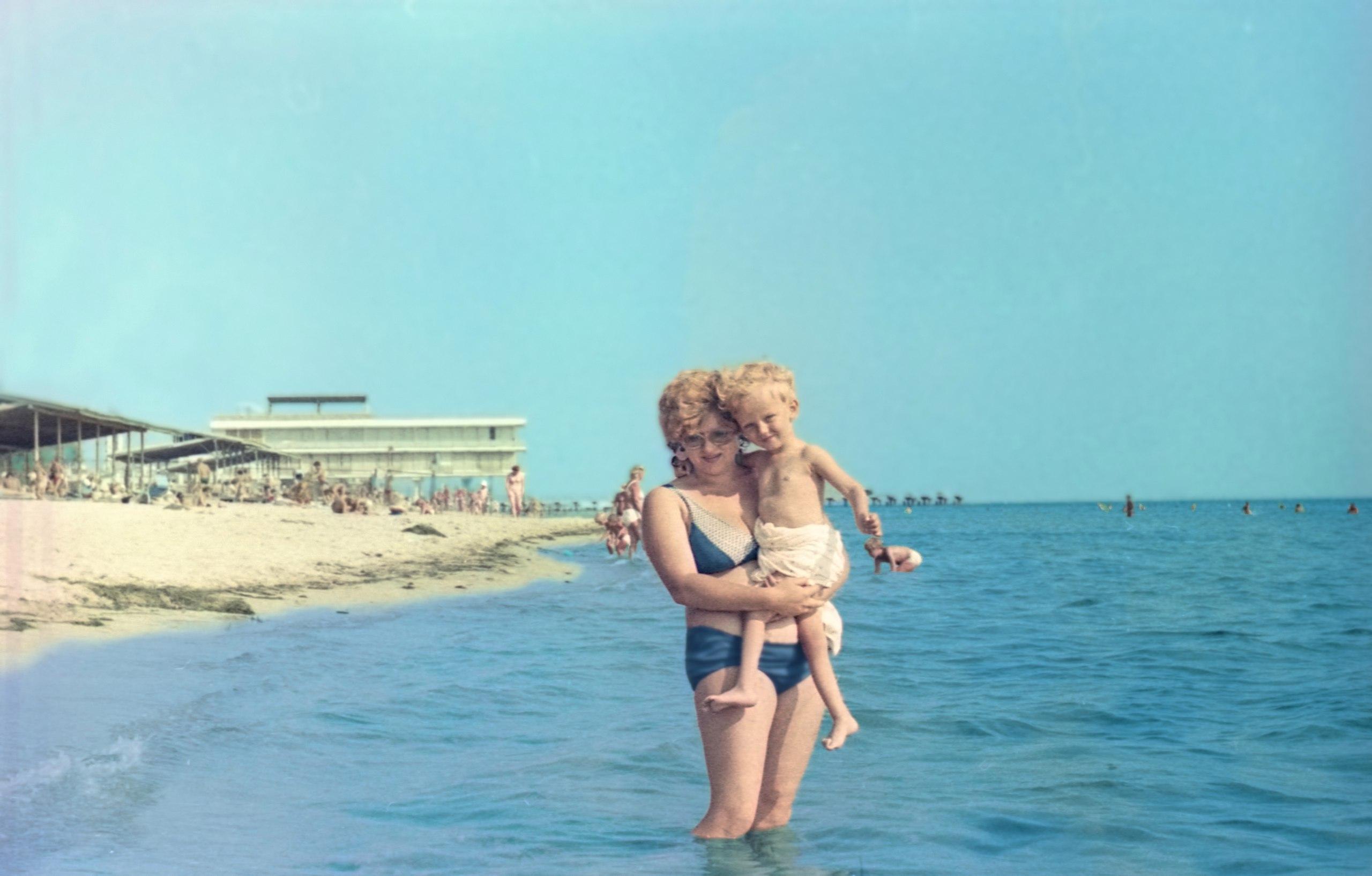 Самое синее в мире, Чёрное море моё! . Отдых у воды