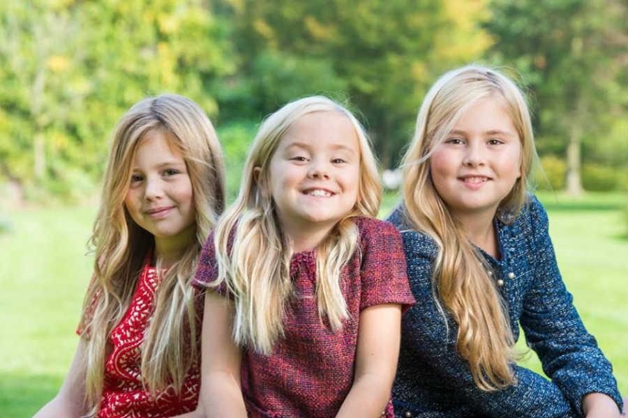 Король Голландии дети