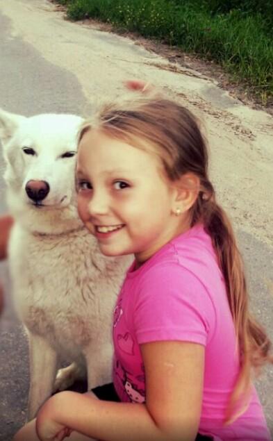 Девочки, улыбнитесь!!!. Моя собака