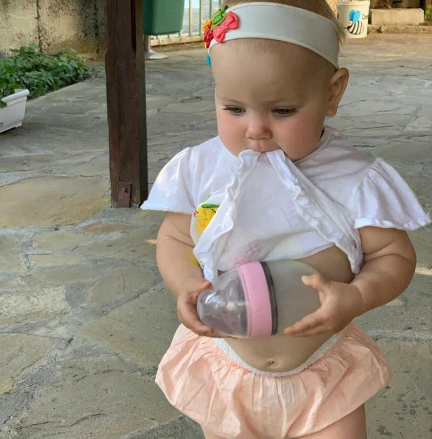 Лера Кудрявцева дочь Маша