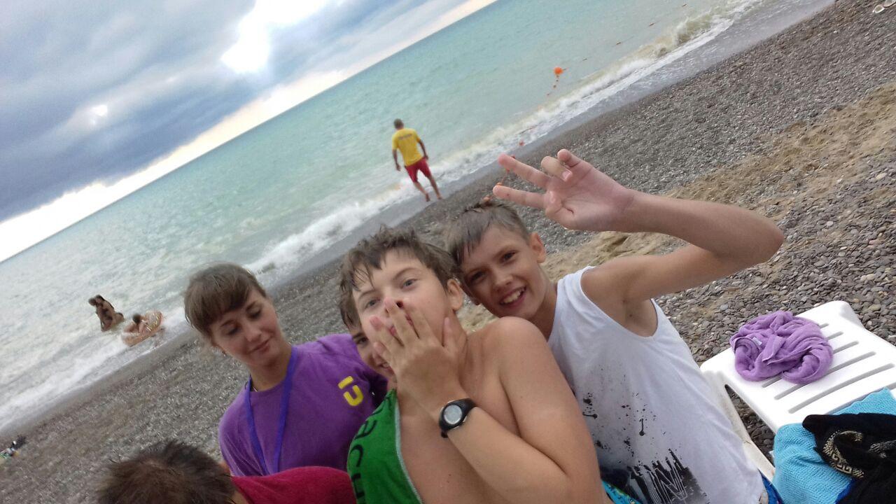 У самого Чёрного моря..... Отдых у воды