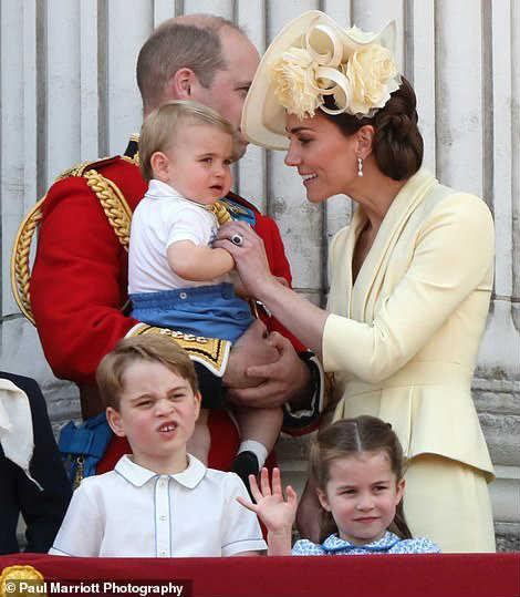 Принц Уильям Кейт дети
