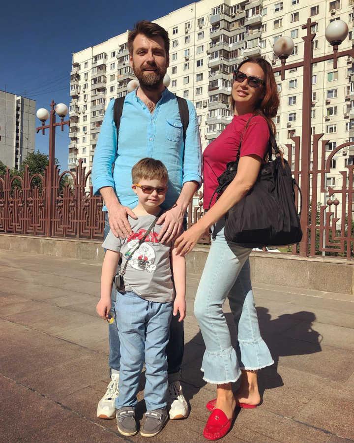 Эвелина Бледанс муж сын Семен