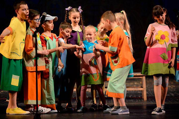 Мастер класс Театр дети