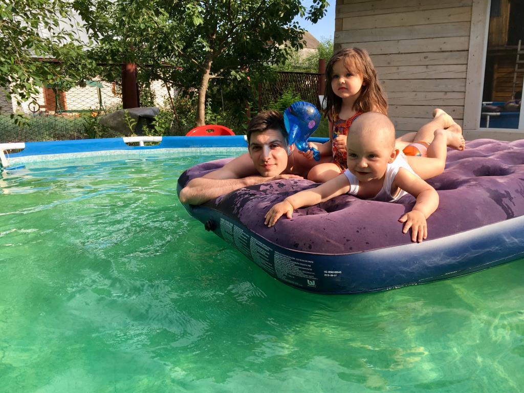 Плывем на плоту в счастливое лето!. Отдых у воды