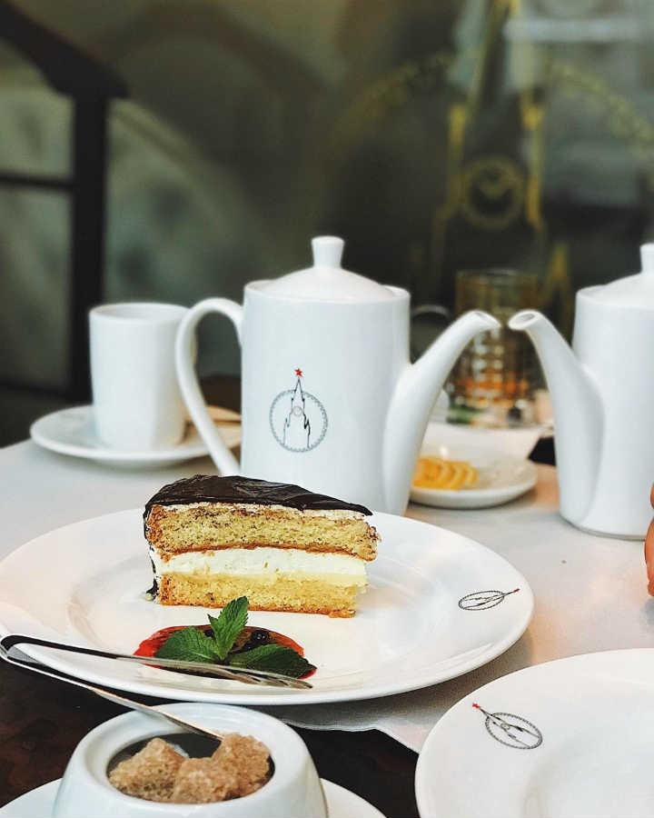Ресторан Спасский торт Чародейка