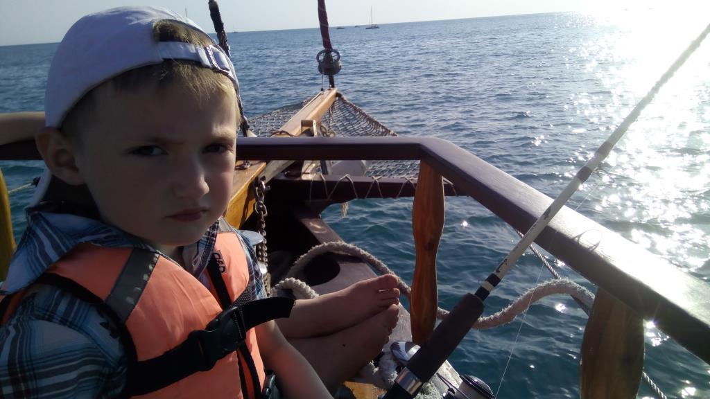 Даниил-моряк. Отдых у воды