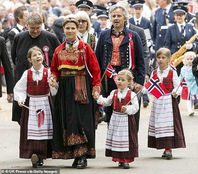 Норвежская принцесса муж дети