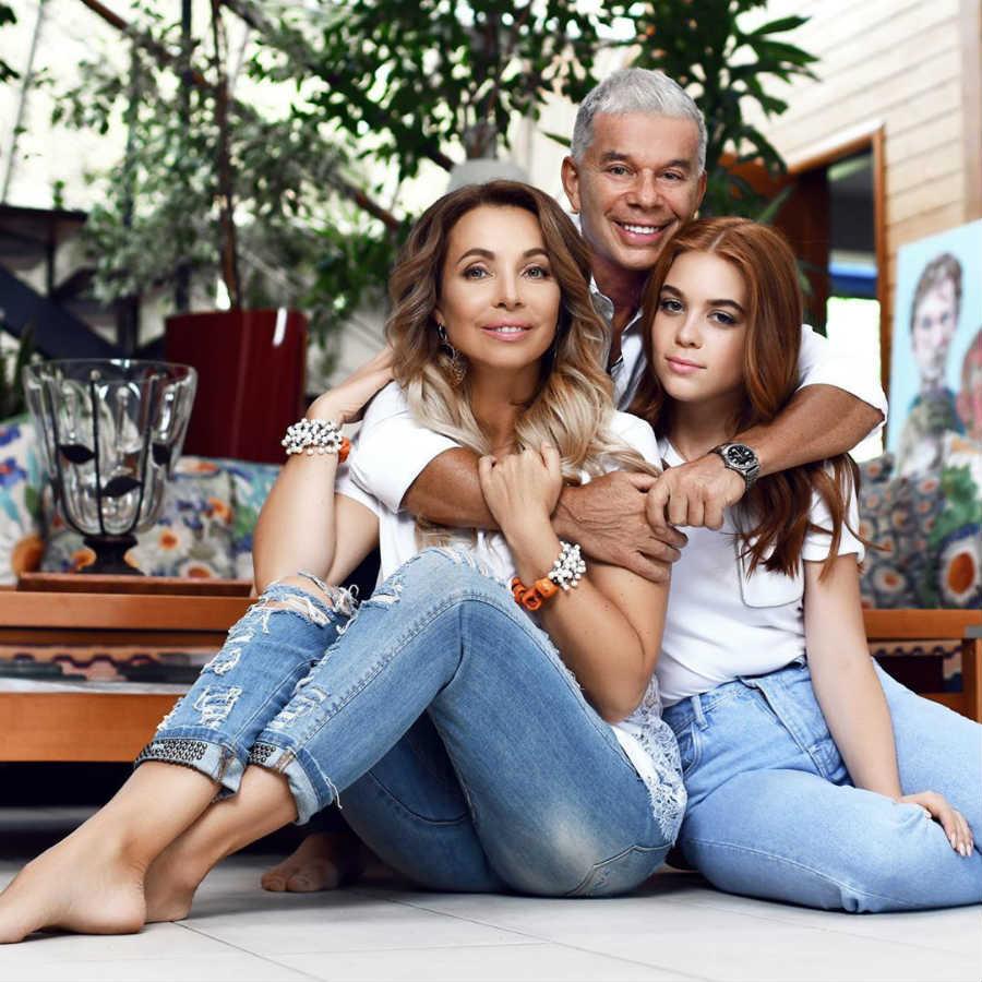 Олег Газманов жена дочь