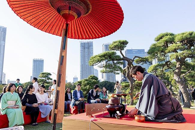 Tokyo Grand Tea Ceremony