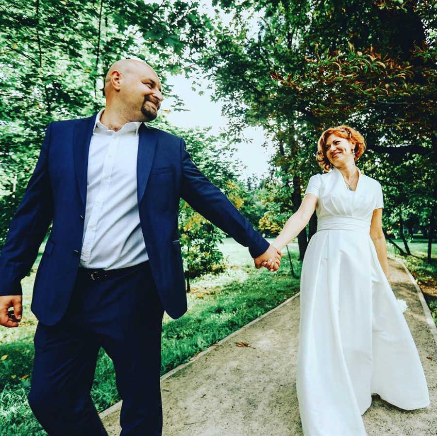 Елена Бирюкова Илья Хорошилов свадьба