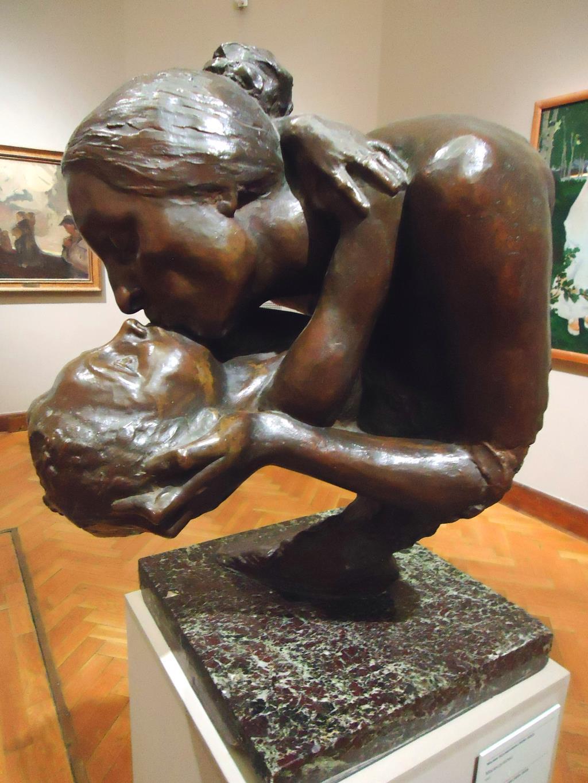 Трогательно.... Блиц: скульптура