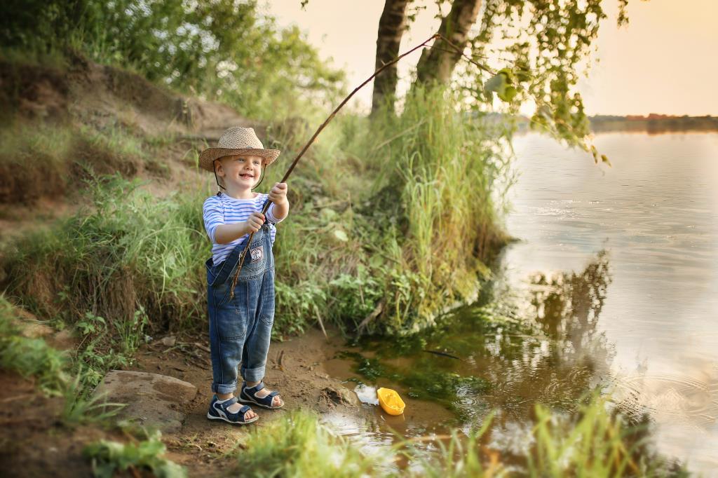 На рыбалке! . Отдых у воды