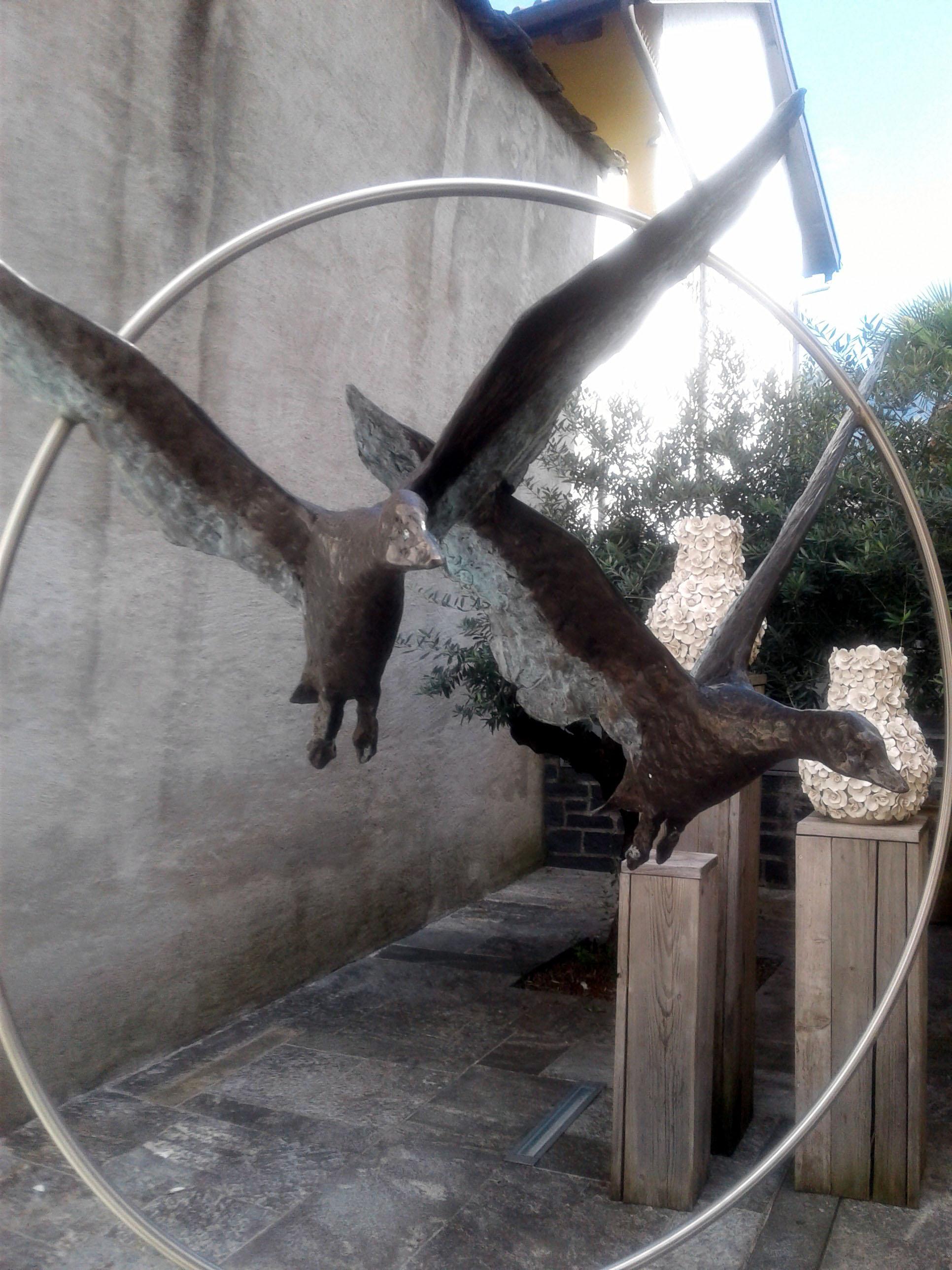 Мы летаем. Блиц: скульптура