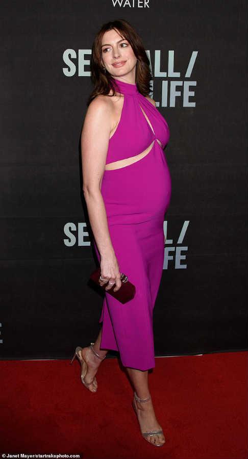 Энн Хэтэуэй беременна вторым ребенком