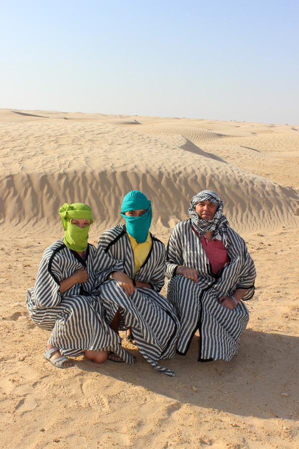 Сахарские каникулы. Яркое лето