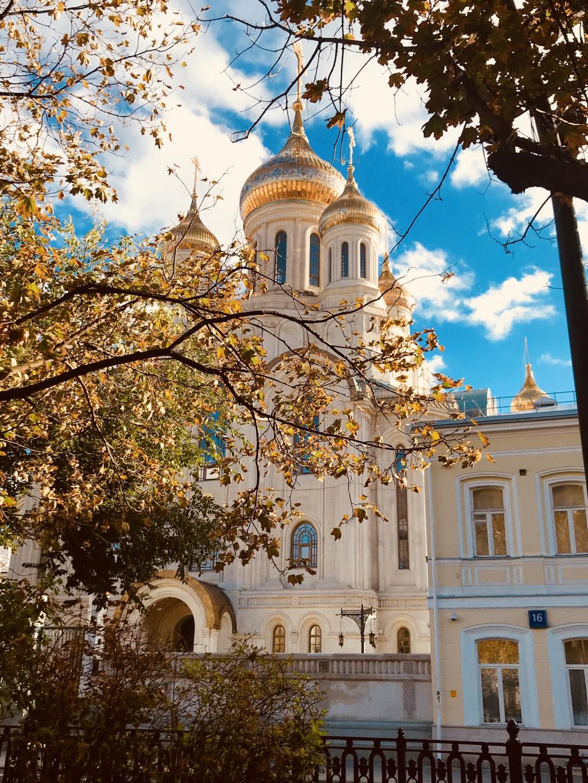 Московская осень. Блиц: яркая осень