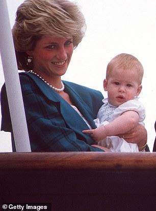 Принц Гарри принцесса Диана