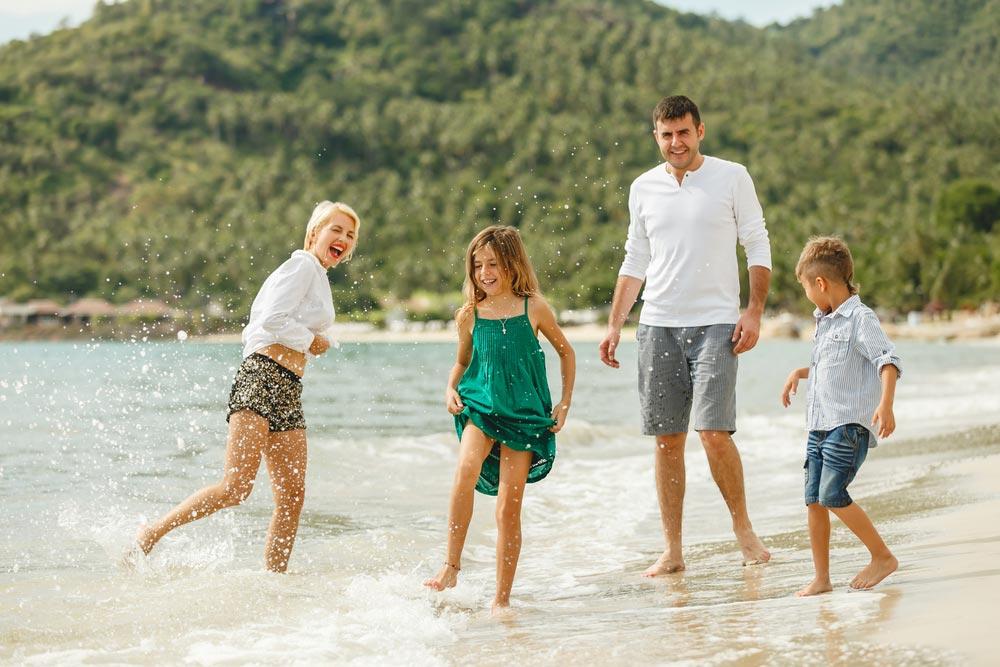 Самые популярные страны для семейного отдыха