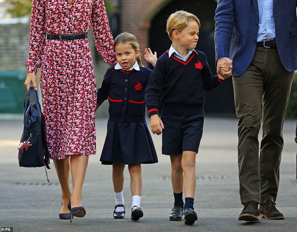 Принцесса Шарлотта принц Джордж