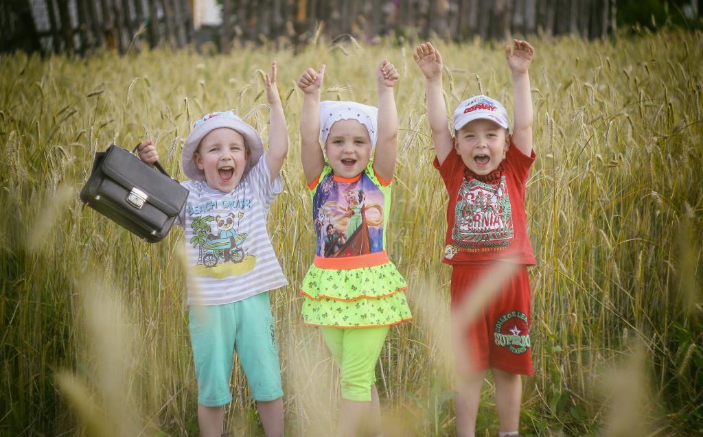Тройное счастье. Яркое лето