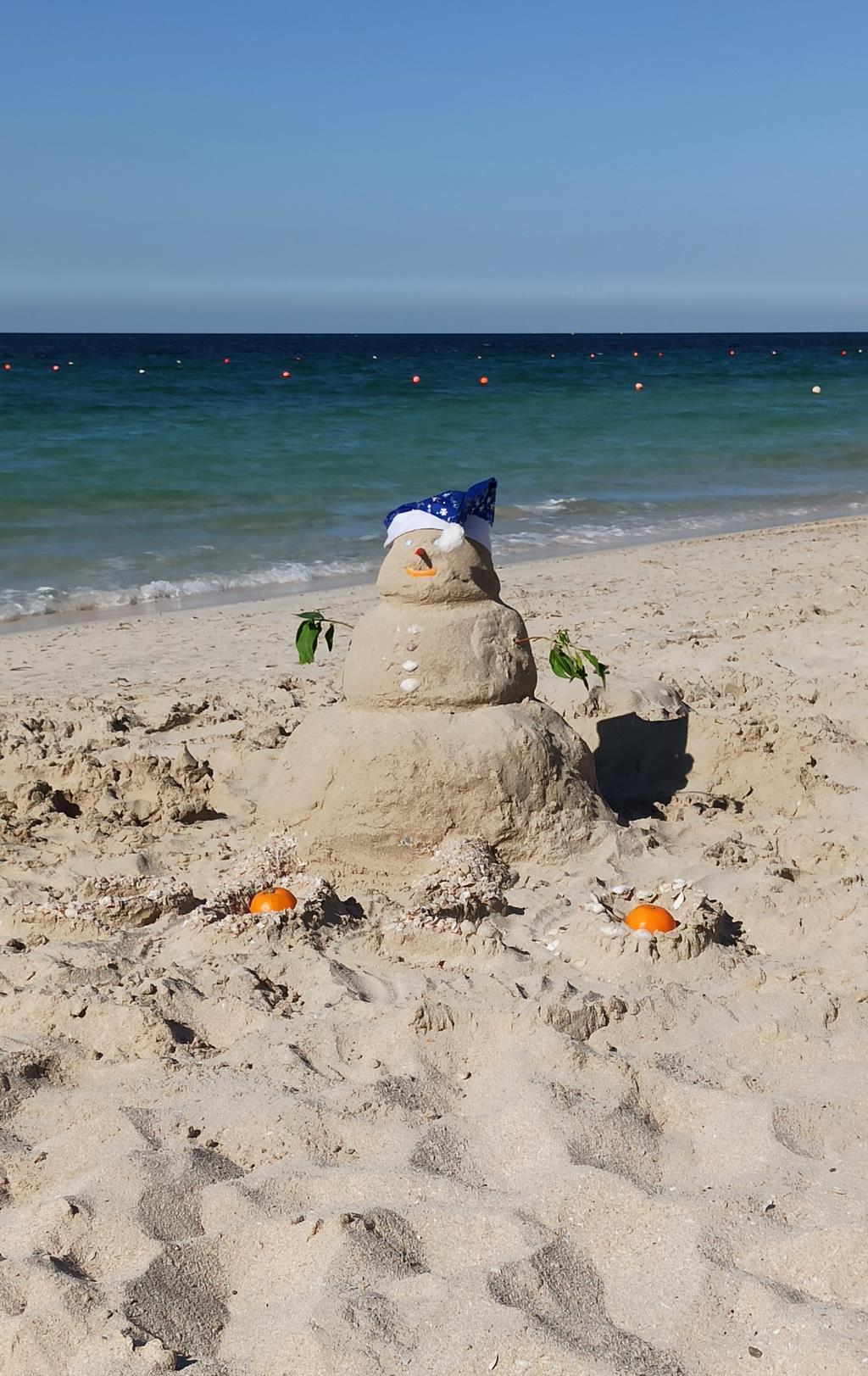 Арабский снеговик. Блиц: очарование Нового года