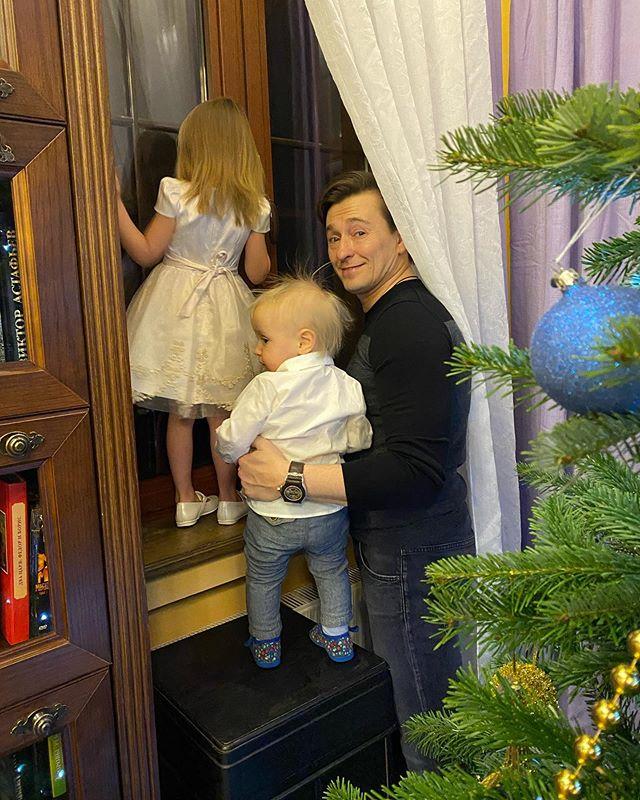 Сергей Безруков дети дочь сын