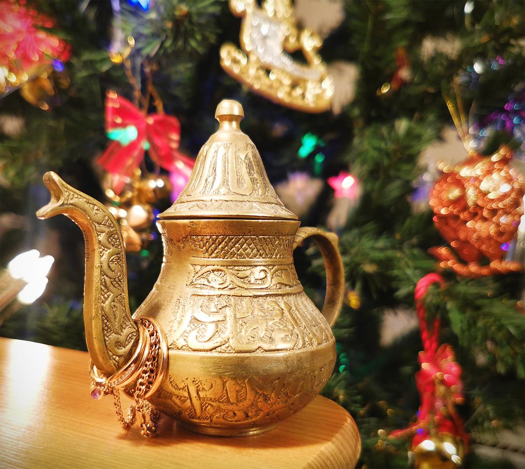 Вам чая или Джинна?. Блиц: посуда