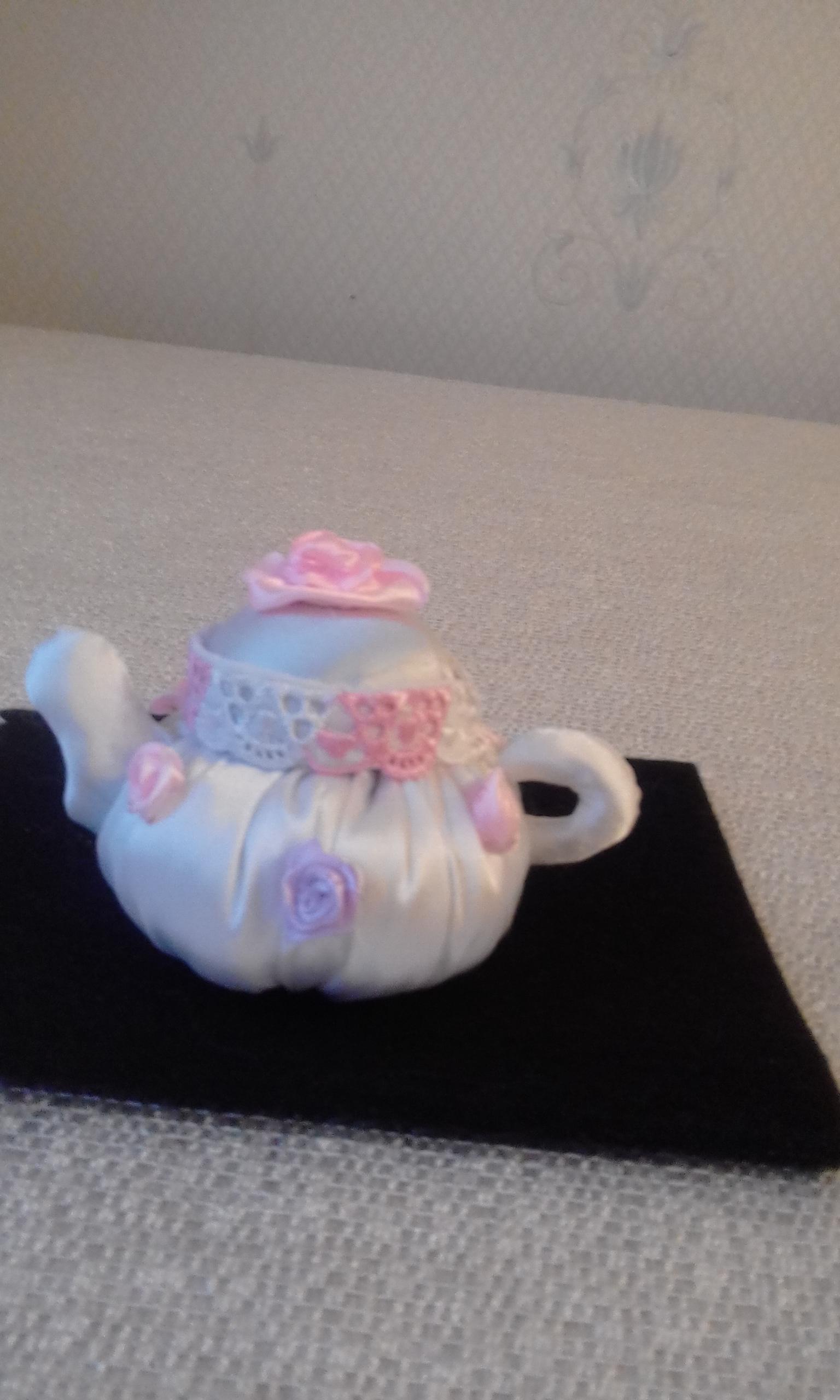 Китайский чайник из шёлка. Блиц: посуда
