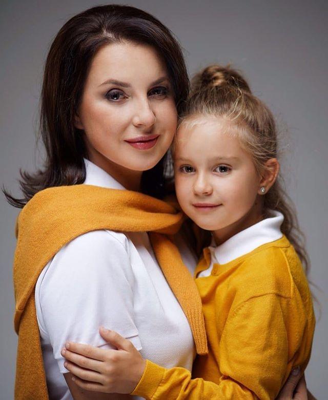 Ирина Слуцкая дочь Варвара Слуцкая