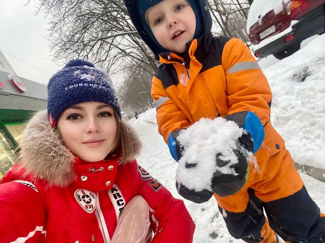 Анна Михайловская сын Мирослав