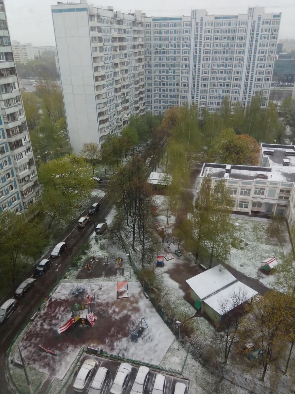 08 мая 2017 года Москва, и зима ведь была снежная. Блиц: вид сверху
