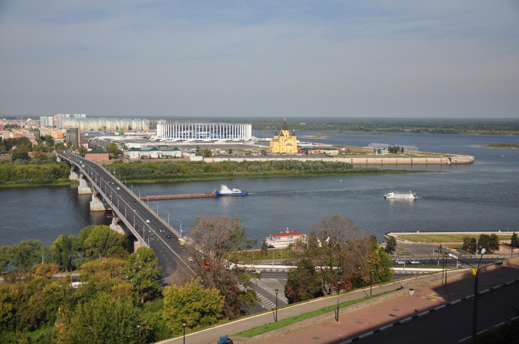 Нижний Новгород. Блиц: вид сверху