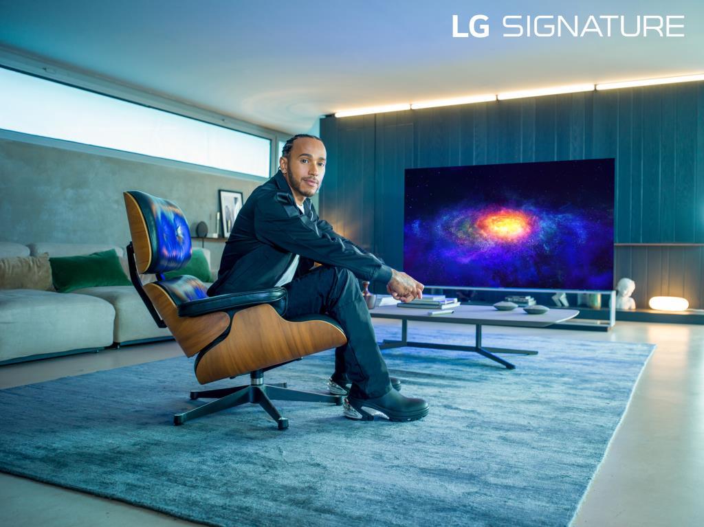 Шестикратный чемпион мира формулы-1 льюис хэмилтон стал послом бренда lg signature