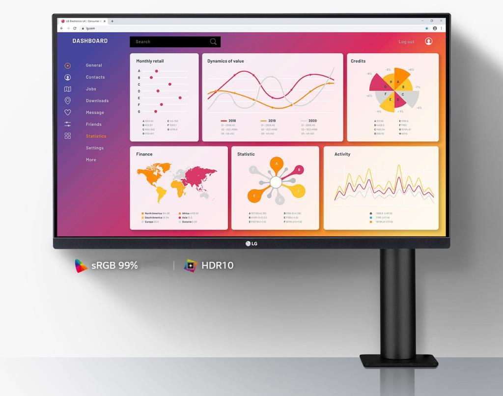 Специальные условия на ultra ergo: мониторы lg с концепцией эргономичного дизайна
