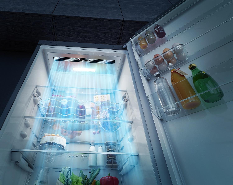 Для интерьера любого дома -  новый холодильник lg    c door cooling+ в цвете темный мрамор