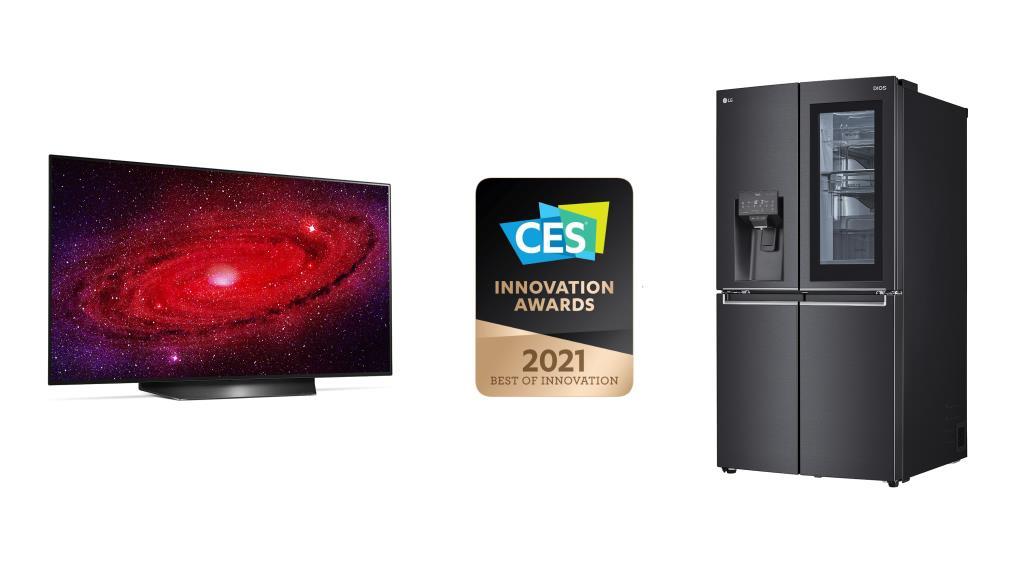 КОМПАНИЯ LG ELECTRONICS УДОСТОЕНА ПРЕМИИ CES INNOVATION AWARDS 2021 года