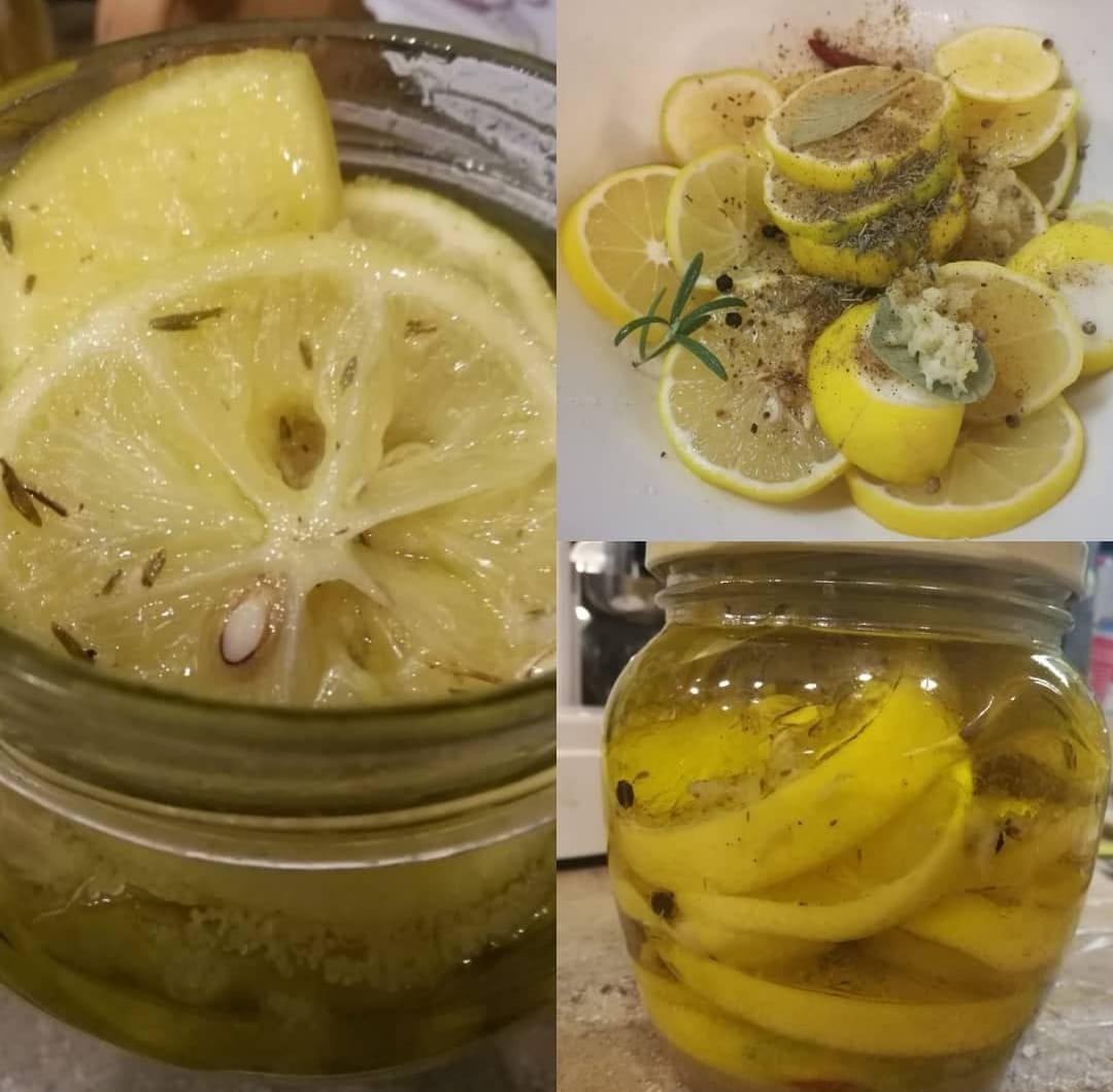 Соленые лимоны к Новому году
