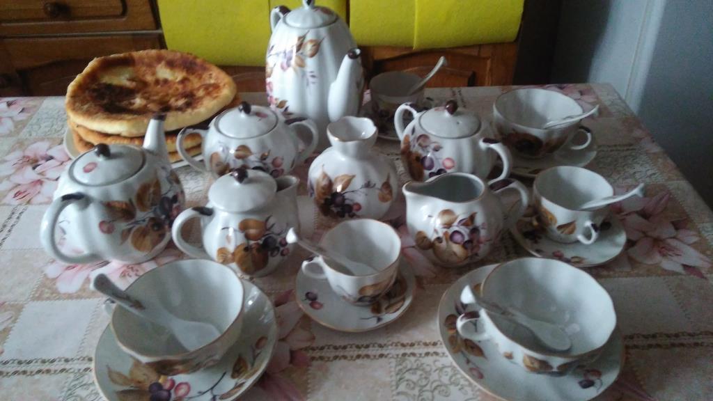 Чайно-кофейная церемония.. Блиц: фарфор