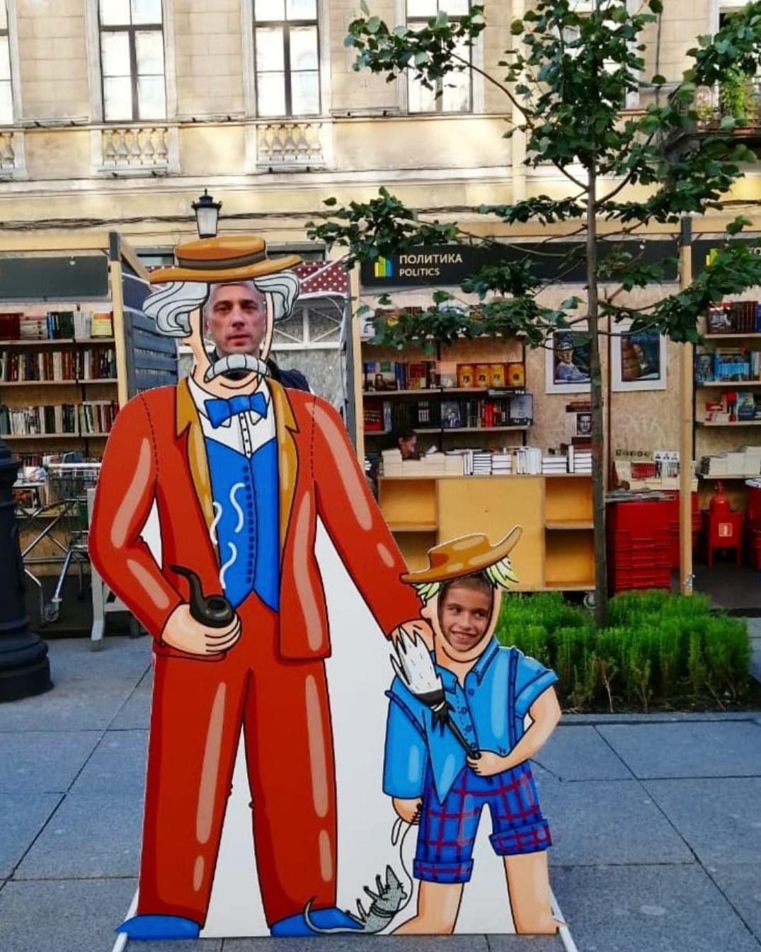 Марк Твен и его Том Сойер. В образе