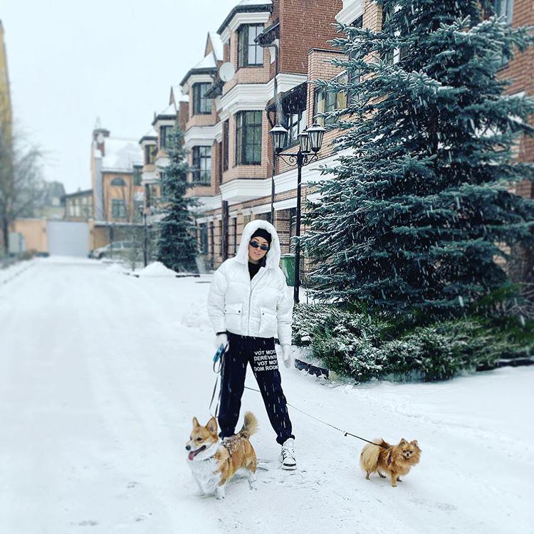 Ирина Дубцова собаки Буся умерла