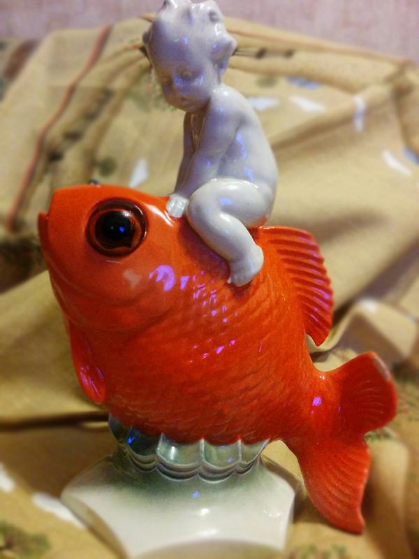 Рыбка моя!. Блиц: фарфор
