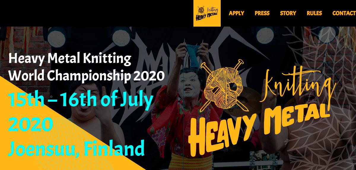 Чемпионат по вязанию под рок-музыку