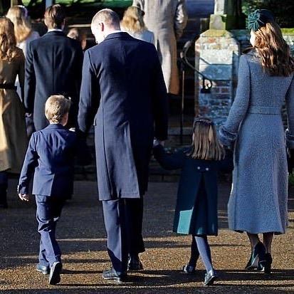 Принц Уильям Кейт дети Джордж Шарлотта